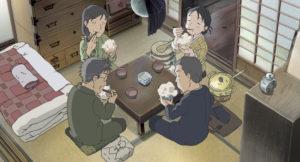 楠公飯を食べる(アニメ)