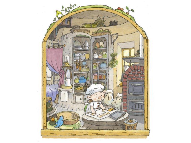 【神奈川】『パン屋のイーストン』絵本原画展:2017年8月18日(金)〜9月26日(火)