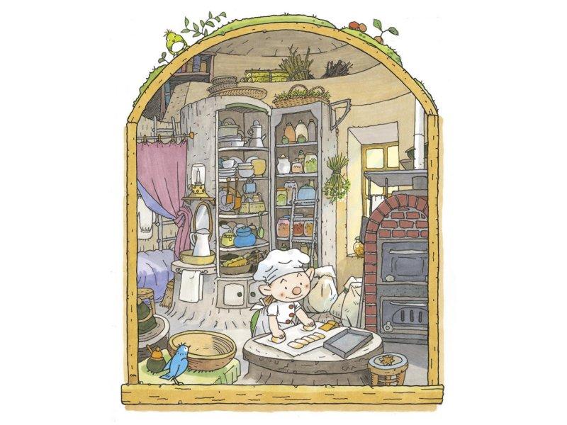 【東京】『パン屋のイーストン』原画展:2017年10月3日(火)〜11月5日(日)