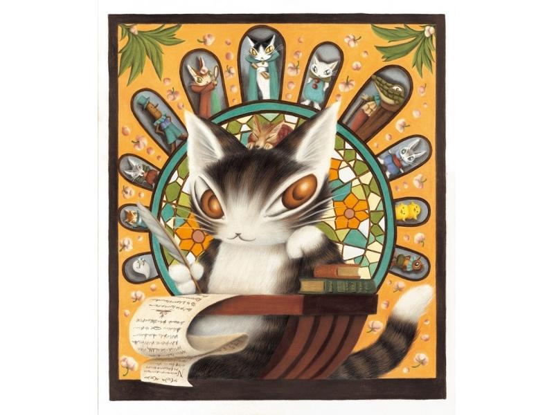 【東京】猫のダヤン 35周年 ダヤンと不思議な劇場 池田あきこ原画展:2018年10月17日(水)~10月24日(水)