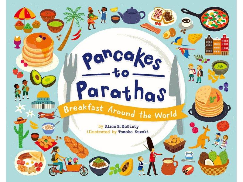 【東京】イラストレーター・スズキトモコ 個展 絵本「Pancakes to Parathas ~ Breakfast Around the World」出版記念展:2019年3月25日(月)~3月30日(土)