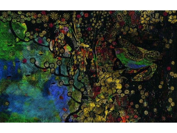 【東京】Cocco新作絵本「みなみの しまの はなのいろ」原画展:2019年9月28日(土)~10月6日(日)