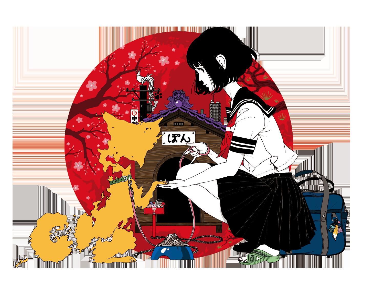【金沢】中村佑介展 金沢 21 世紀美術館:2021年4月29日(木・祝)~ 5月29日(土)